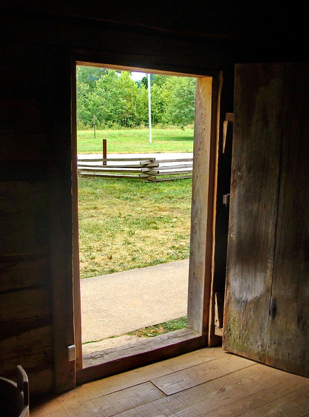 Cabin Doorway