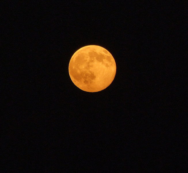October 14th, 2008.  A full harvest moon.