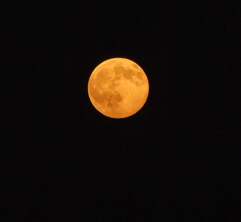 October 14th, 2008.  A full harvest moon.