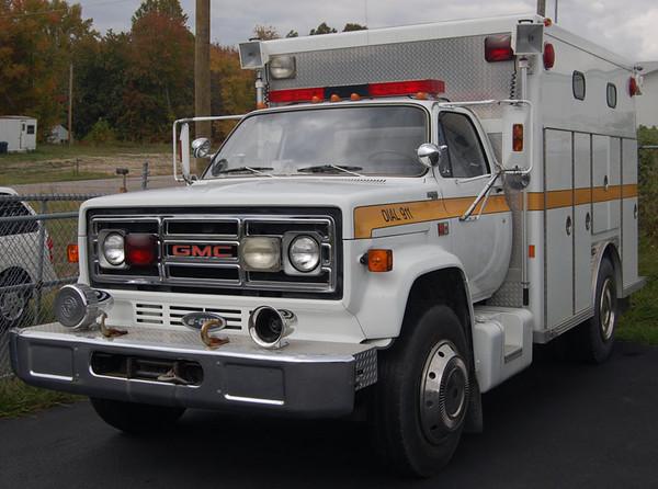 """Former Rescue Truck"""