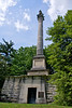 Henry Clay monument in the Lexington Cemetery.