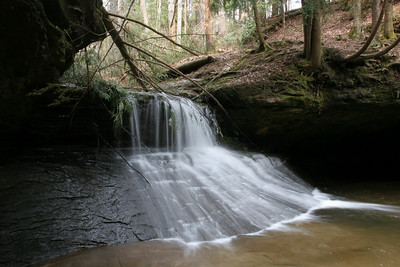 Creation Falls Red River Gorge Kentucky