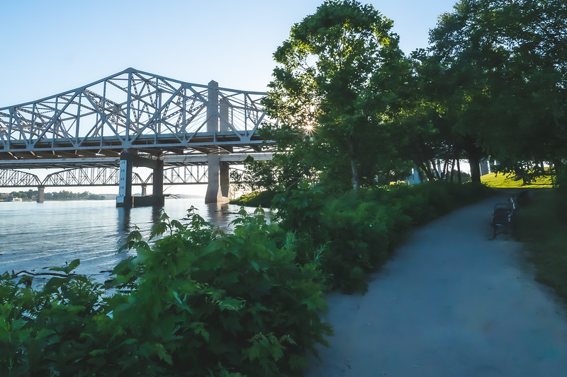 Waterfront Park in Louisville Kentucky
