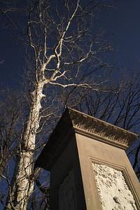 Daniel Boone's Grave, Frankfort Cemetary