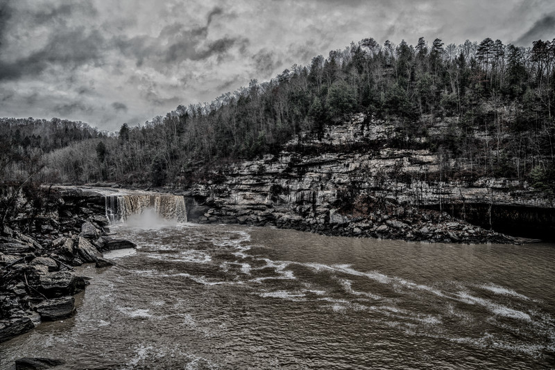 Winter Cumberland Falls