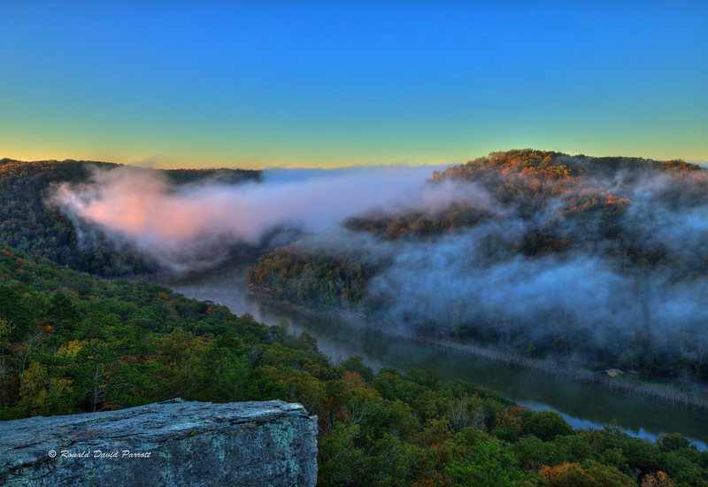 Foggy Buzzard Rock Sunrise, 5 of 8