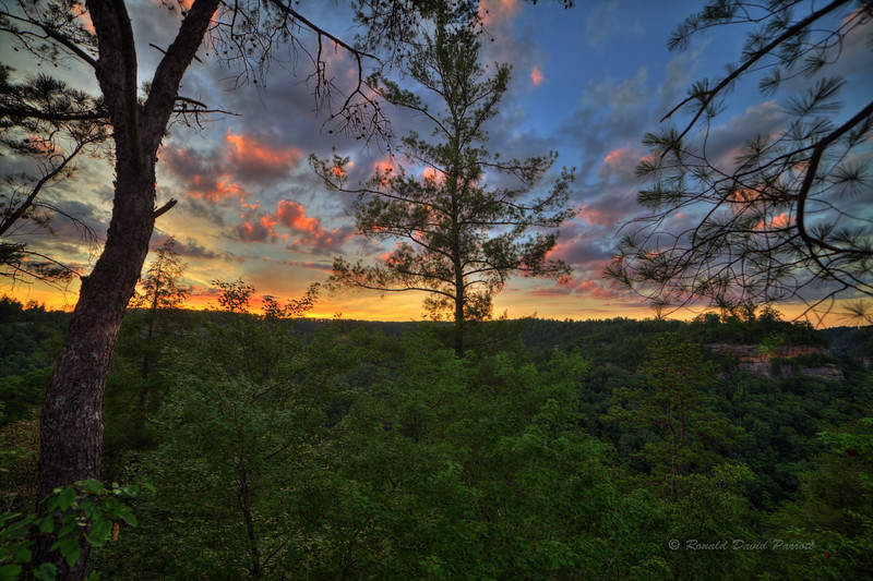 Sunset at Red River Gorge