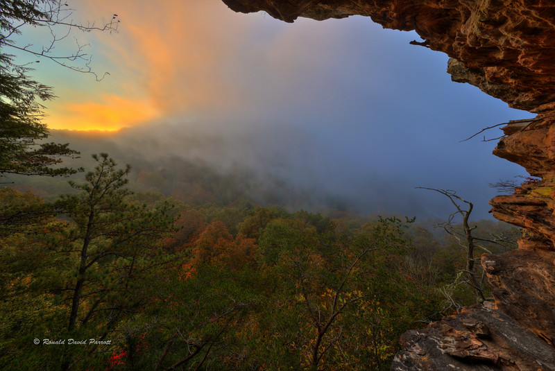 October Sunrise at Ledge Overlook, Photo #3