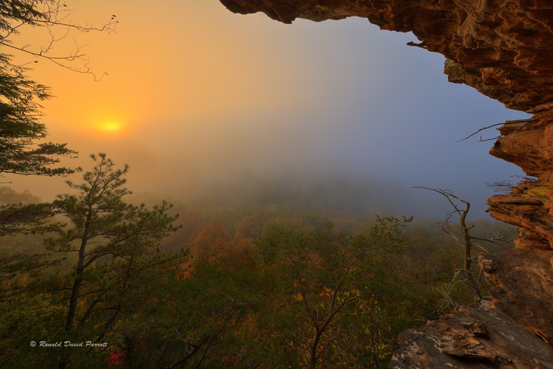 October Sunrise at Ledge Overlook, Photo #4