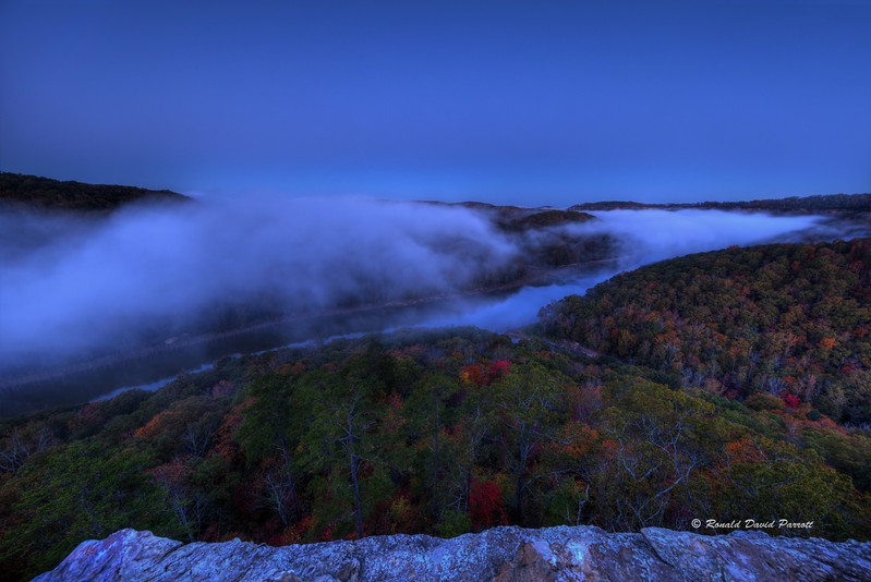 Foggy Buzzard Rock Sunrise, 1 of 8