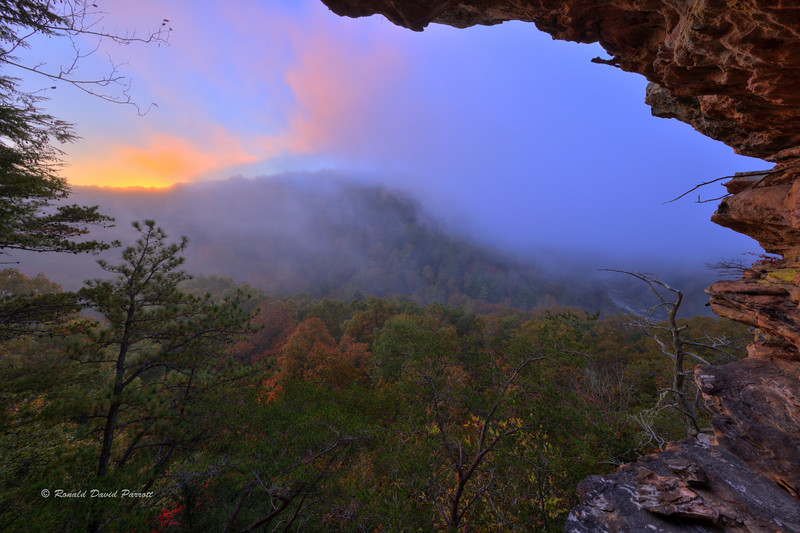 October Sunrise at Ledge Overlook, Photo #2