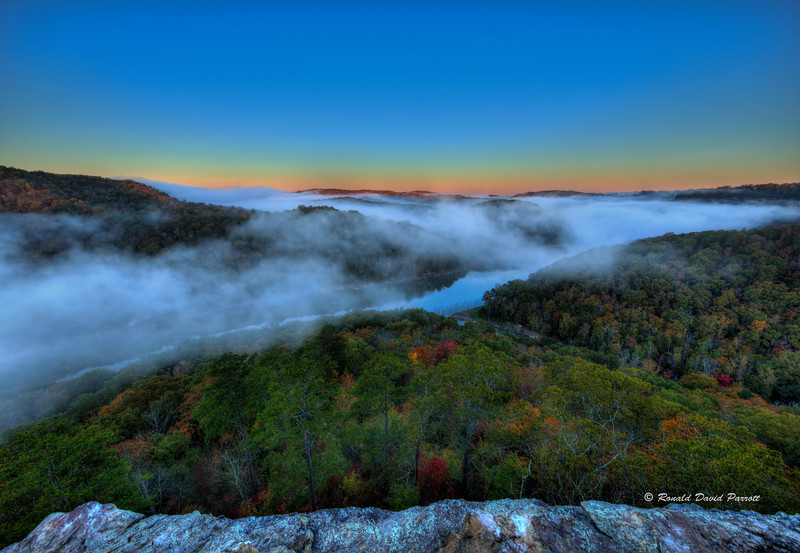 Foggy Buzzard Rock Sunrise, 3 of 8