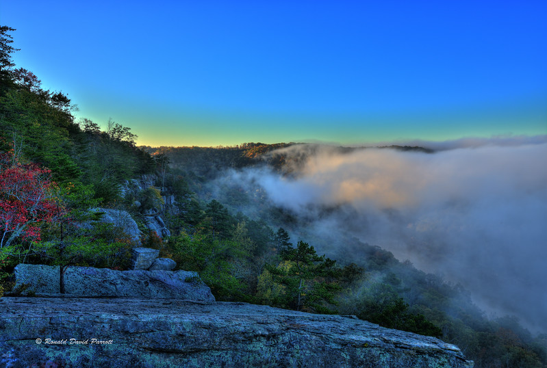 Foggy Buzzard Rock Sunrise, 7 of 8