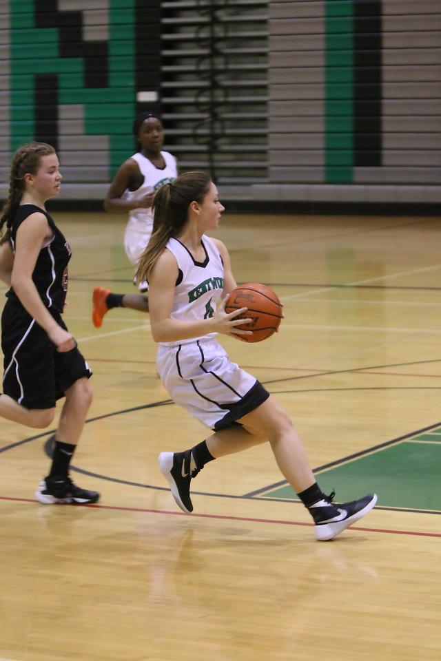 2015 Kentwood Girls JV Basketball December 4