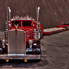 This Cab is a Jim Simmons creation. The custom trailer is an original Bill Musgrave creation.