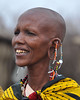 I can remember as a chlld I would look through National Geographic magazines and see photos of women with ears like this.  Never would I have believed that I would see it in person.