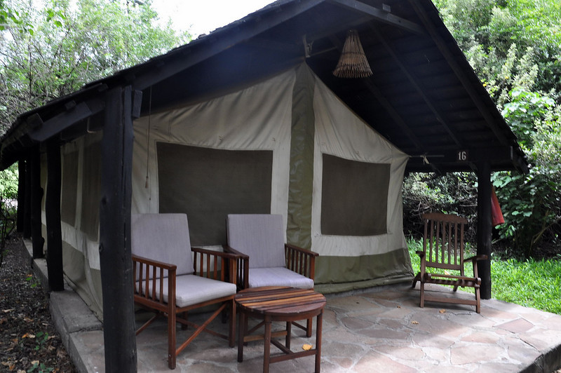 Our tent in the Sarova camp.