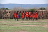Young Masai warriors.