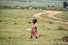 Masai girl child.
