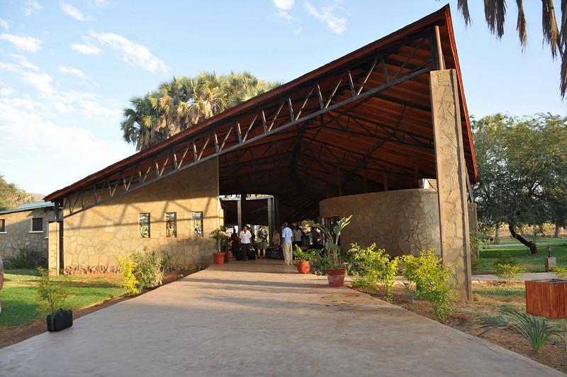 Entrance to Ashnil Samburu Camp.