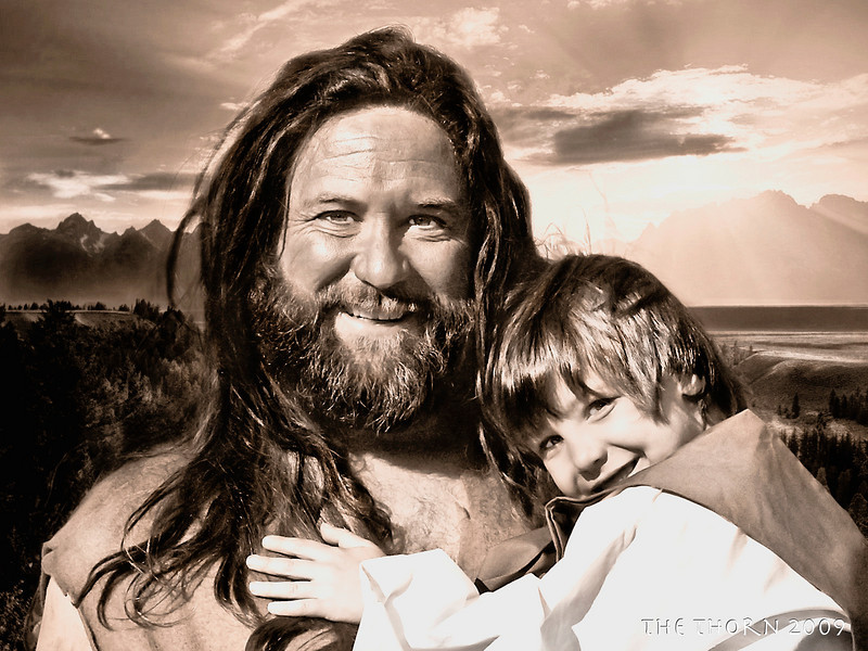 """Moments with our Hero's<br /> <br /> This picture really meant something to me as I saw this sweet boy <br /> holding on to his dad! As I think back, my dad was my hero, you know <br /> our dads should be our hero's. <br /> <br /> All kids I think look at our fathers as their protectors, our safe place. <br /> <br /> What a special moment I got to have as we met <br /> outside the church for a second to take this.<br /> <br /> They say we don't remember the days, but we never forget a moment, <br /> a moment like this! God Bless this sweet family and all the others who <br /> gave up many nights to help bring """"The Thorn"""" here to our town.<br /> <br /> It was a moment I'll never forget, I am forever changed, <br /> forever touched! I can't thank you all enough, it's been a <br /> pleasure to serve along side you all!<br /> <br /> Forever, your Gary Mac"""