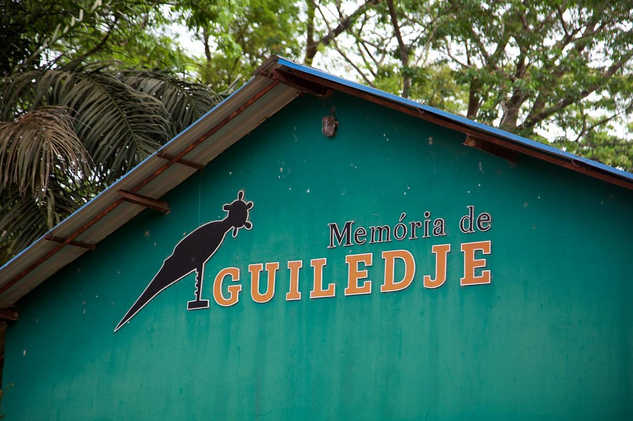 War memorial in Guiledje