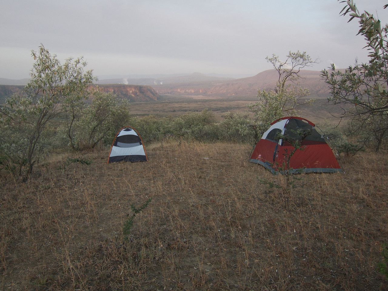 Camping in Hells Gate