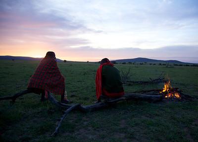 Our Masai guides