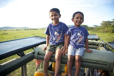 Safari boys!