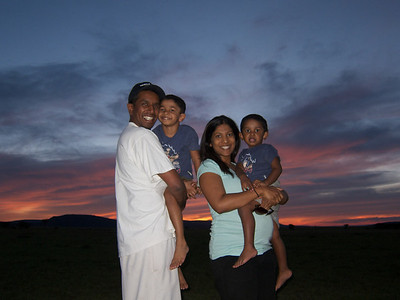 Raj, Jax, Shereen and Carson