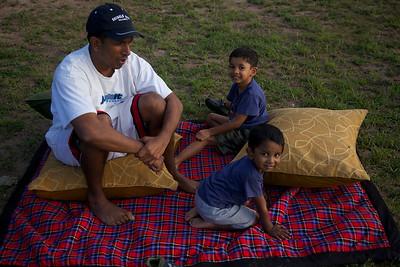 Raj, Jax and Carson