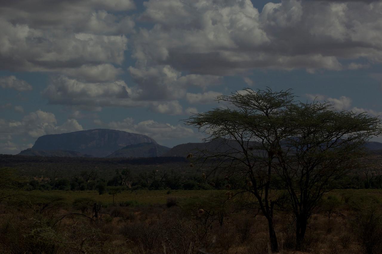 Looking towards Samburu National Park