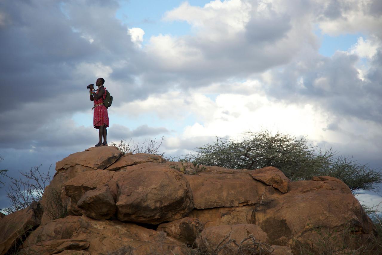 Ole, our Masai guide