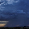 We experienced some amazing thunderstorms, fortunately arriving back from our drive before this one reached us
