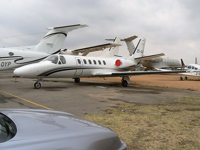 Cessna Citation @ Lanseria SA Sept 2009