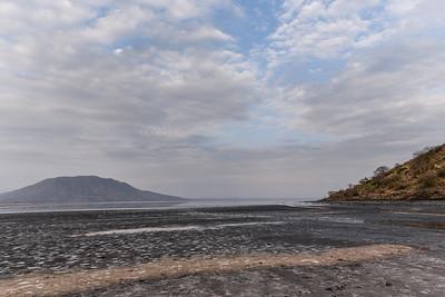 Lake Natron and Mt Shompole