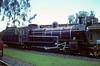 Tanganyika Railway 4-8-0 No 301, Nairobi Raiilway Museum, May 1982.  Built by Beyer Peacock 6129 / 1923.  Photo by Les Tindall.