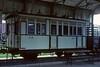 Uganda Railway carriage No 34, Nairobi Raiilway Museum, May 1982.  Photo by Les Tindall.