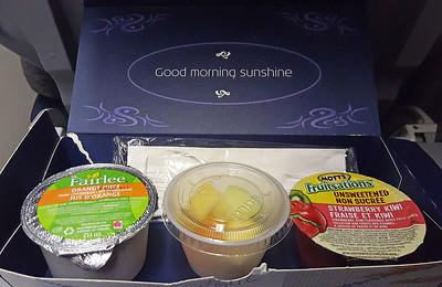 Morning Snack on KLM