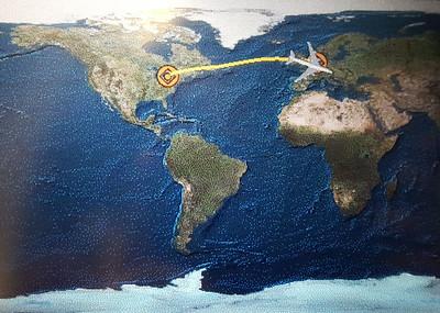 Flight from Toronto to Amsterdam