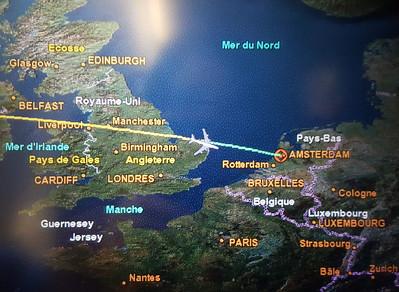 Flying Toronto to Amsterdam