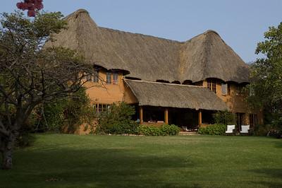 The main building at Lewa