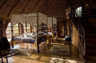 Our room at the Lodge at Lewa