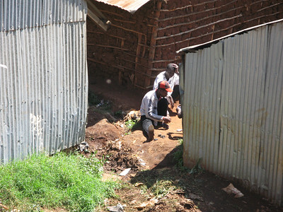 Kibera Slum Nairobi Kenya July 2008
