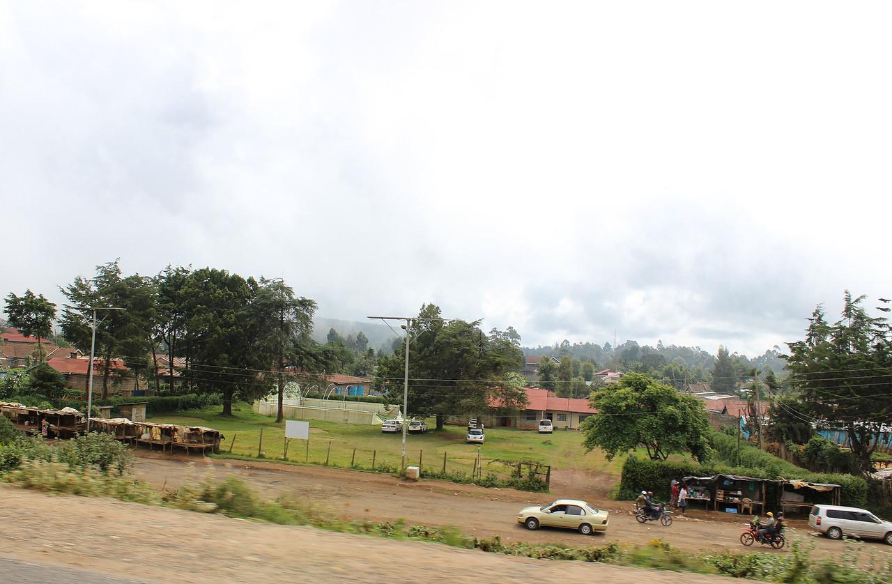 Driving from Nairobi to Soysambu Conservancy
