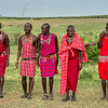 The Maasai men