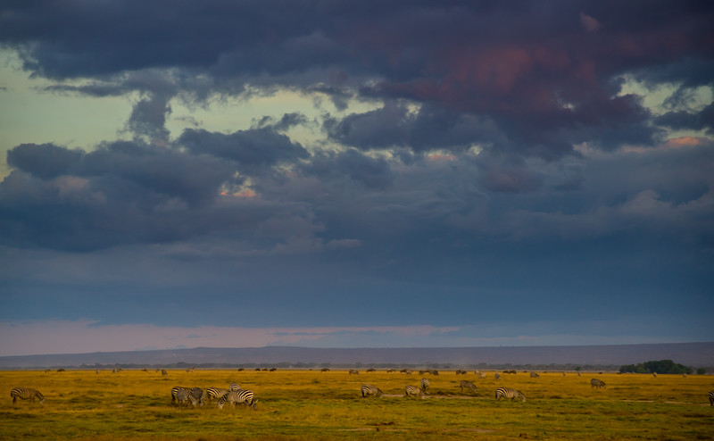 at the skirts of Kilimanjaro mountains