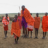 Life at a Masai Mara Village, Kenya