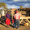 Villages and beautiful vistas in Kenya