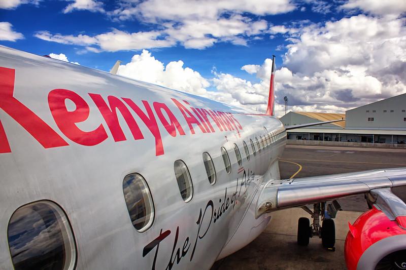Kenya Airways Jet